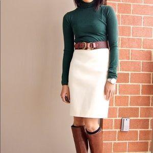 Jade Green Merano Turtleneck Sweater sz S